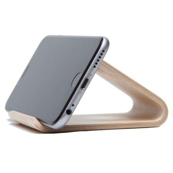 EarthHero - Bamboo Wood Smartphone Phone Stand - 3