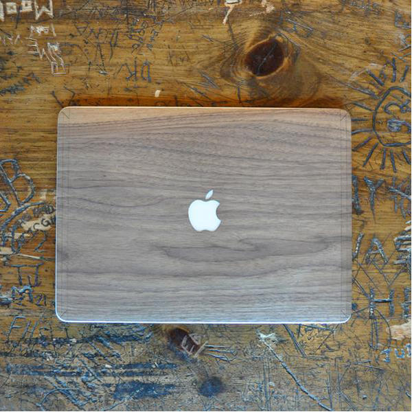 EarthHero - Black Walnut MacBook Skin - 2