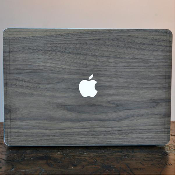EarthHero - Black Walnut MacBook Skin - 3