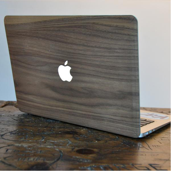 EarthHero - Black Walnut MacBook Skin - 4