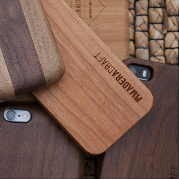EarthHero - Cherry Wood Wooden Phone Case - 5