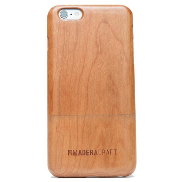 EarthHero - Two Piece Cherry Wood Wooden Phone Case - iPhone 6 Plus