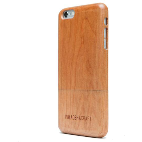 EarthHero - Two Piece Cherry Wood Wooden Phone Case - 2