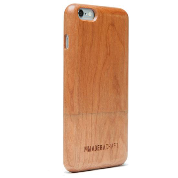 EarthHero - Two Piece Cherry Wood Wooden Phone Case - 3