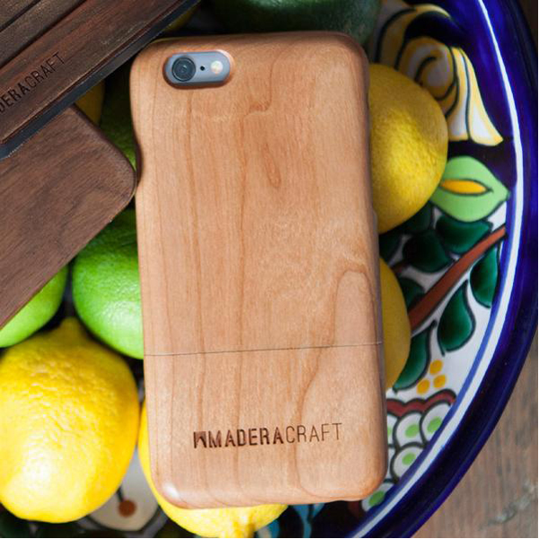 EarthHero - Two Piece Cherry Wood Wooden Phone Case - 5