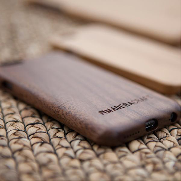 EarthHero - Two Piece Walnut Wood Wooden Phone Case - 3