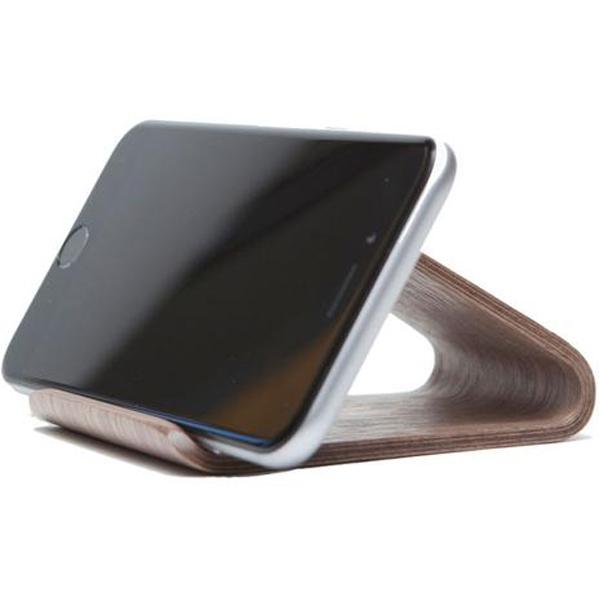 EarthHero - Walnut Wood Smartphone Phone Stand - 2