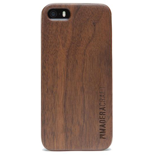 EarthHero - Walnut Wood Wooden Phone Case - iPhone 5/5S