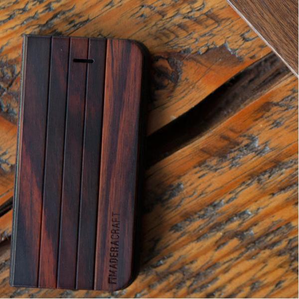 EarthHero - Wraparound Walnut Wooden Phone Case - 5