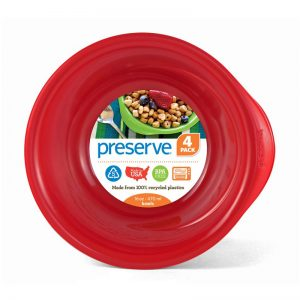 EarthHero - Everyday Reusable Plastic Bowls - 16oz. - Pepper Red