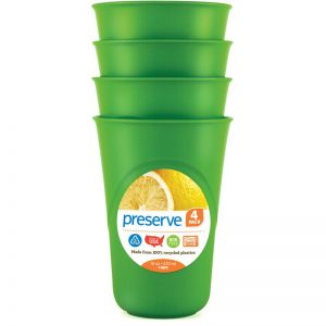 EarthHero - Everyday Reusable Plastic Cups - 16oz. - Apple Green