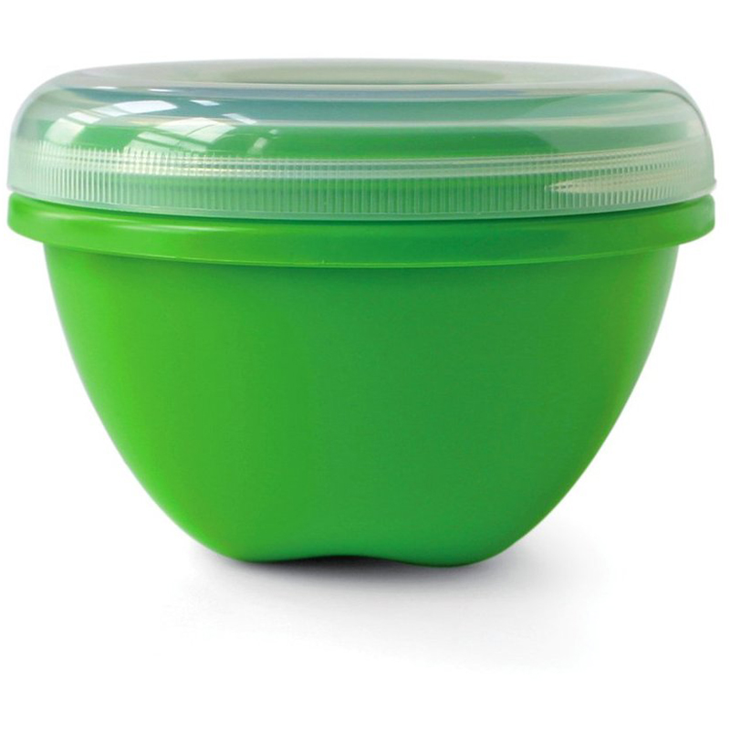 EarthHero - Large Round Recycled Plastic Food Storage Containers - 25.5oz. - 1