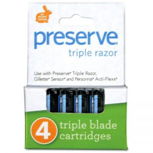 EarthHero - Recycled Plastic Triple Preserve Razor Replacement Blades - 1