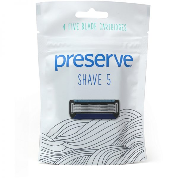EarthHero - Shave 5 Replacement Preserve Razor Blades - 1