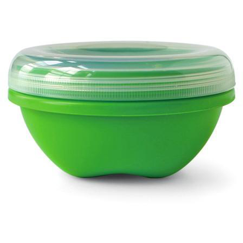 EarthHero - Small Round Recycled Plastic Food Storage Containers - 19oz.  - 1