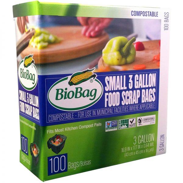EarthHero - Bulk 3 Gallon Compostable Bags - 100pk - 1