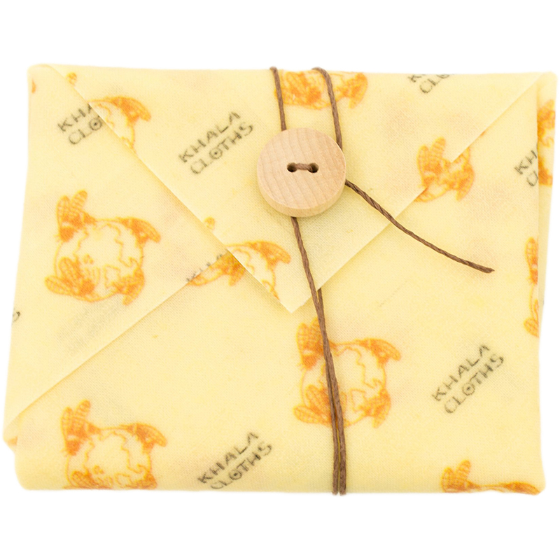 Khala Reusable Beeswax Sandwich Wrap