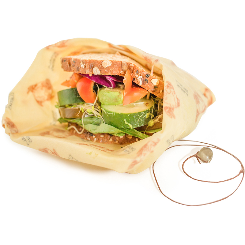 EarthHero - Khala Beeswax Reusable Sandwich Wrap - 2