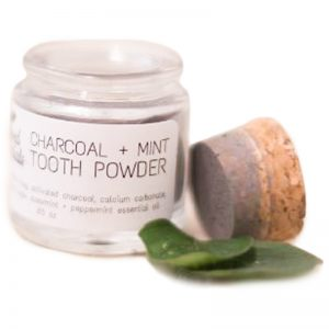 EarthHero - Natural Charcoal & Mint Tooth Powder - 1