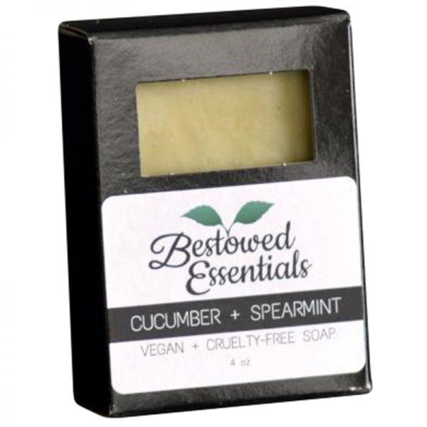 EarthHero - Handmade Cucumber & Spearmint Soap - 3