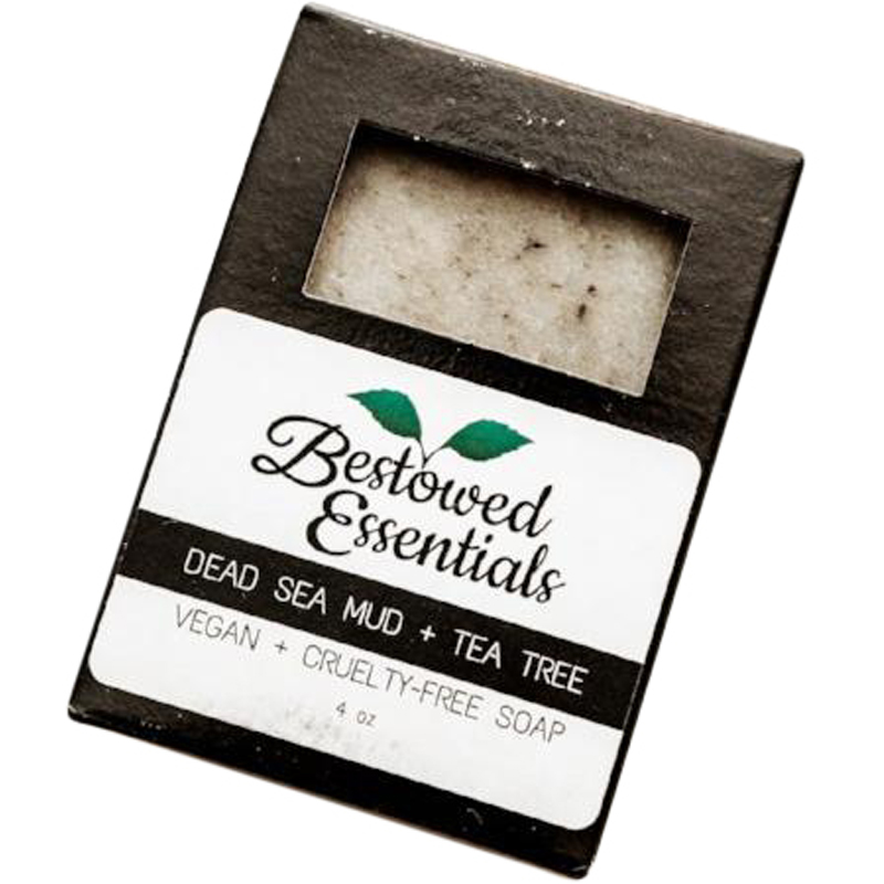EarthHero - Handmade Dead Sea Mud & Tea Tree Soap - 4