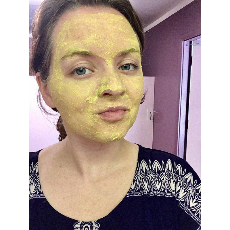 EarthHero - Natural Clay Face Mask - Scarred Skin - 2