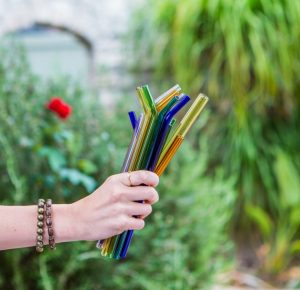 Simply Straws Glass Straws | EarthHero | 7 Ways to Ditch Plastic