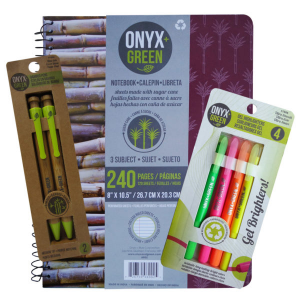 Onyx and Green | EarthHero | Sustainable back to school supplies