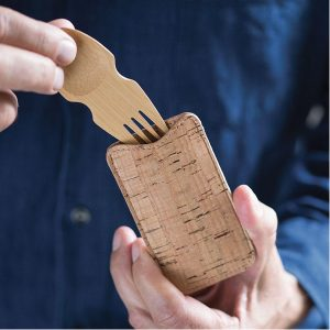Bambu Spork and Cork Set
