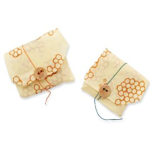 EarthHero - Reusable Sandwich Beeswax Wraps (2 Pk) 1