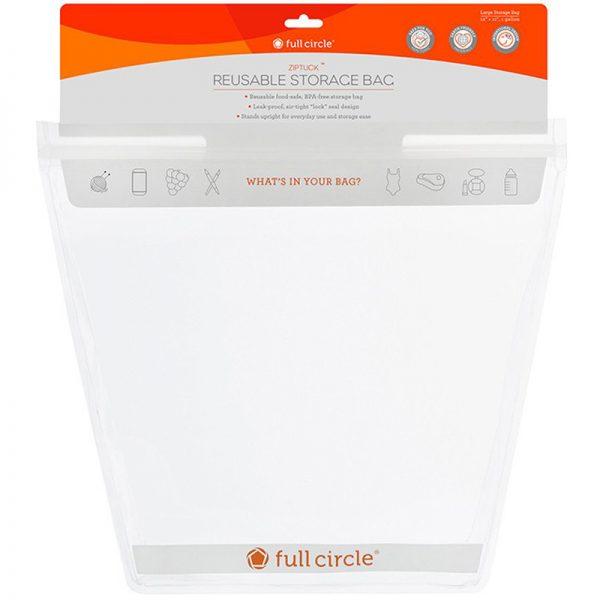 EarthHero - ZipTuck Reusable Gallon Snack Bag 4