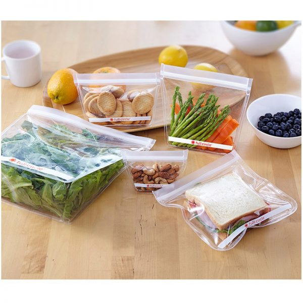 EarthHero - ZipTuck Reusable Gallon Snack Bag 5