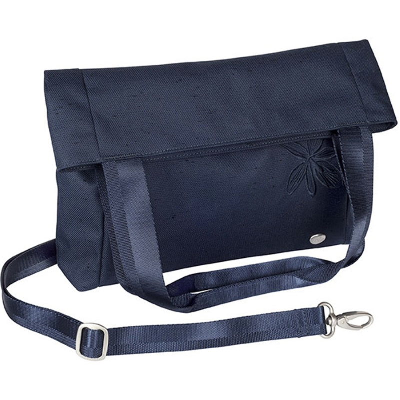 EarthHero - Lyric Foldover Tote Purse - Midnight