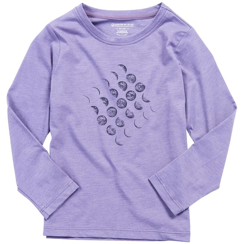 EarthHero - Girl's Moon Cycle Long Sleeve Shirt - 1