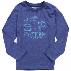 EarthHero - Kid's Campin' Gear Long Sleeve Shirt - 1