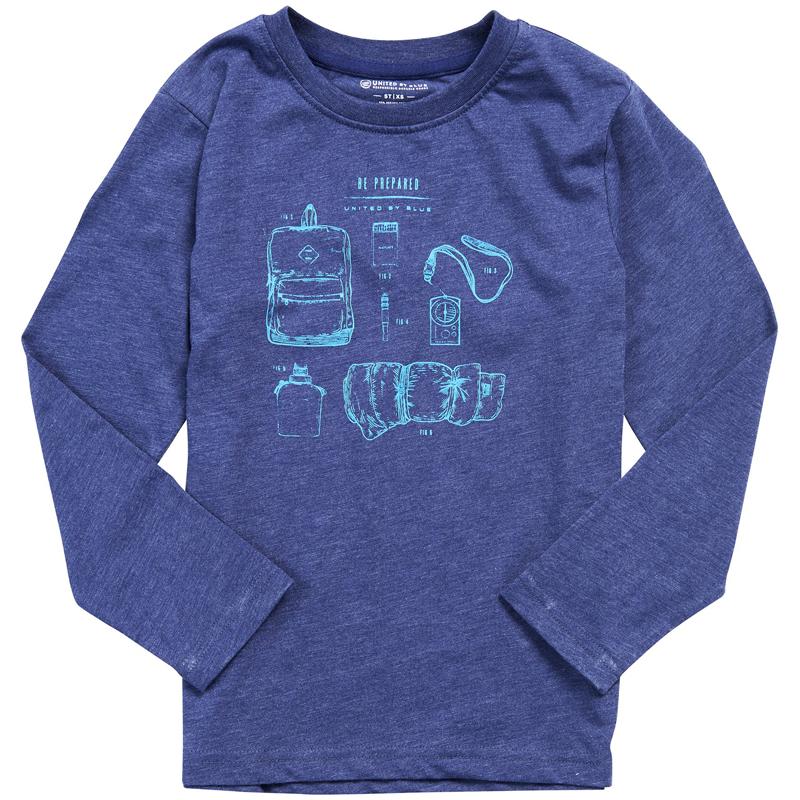 EarthHero - Kid's Campin' Gear Long Sleeve Shirt - 1