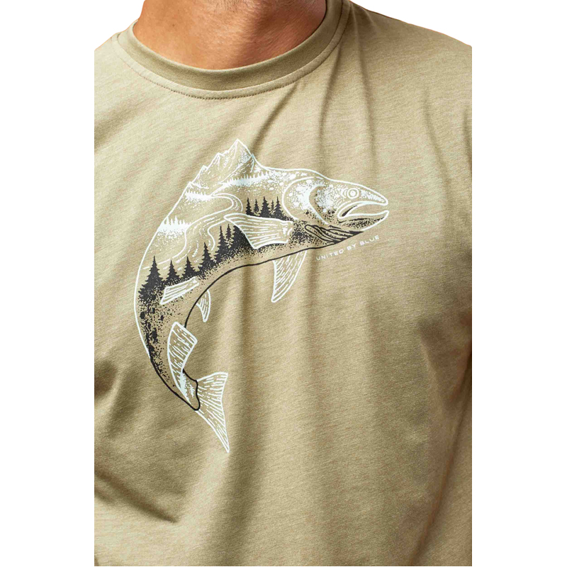 EarthHero - Men's Upstream Graphic Tee - 2