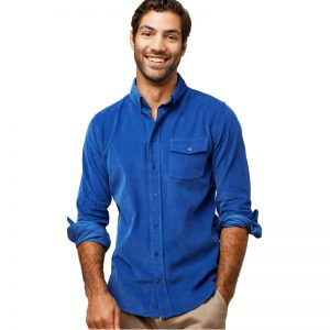 EarthHero - Men's Laurance Corduroy Button Down Shirt - 1