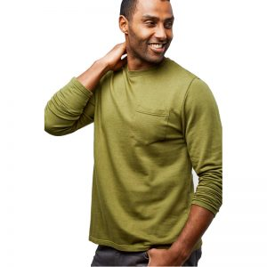 EarthHero - Men's Longsleeve Slub Pocket Tee - 1