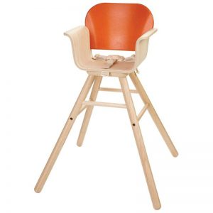 EarthHero - Baby High Chair - Orange