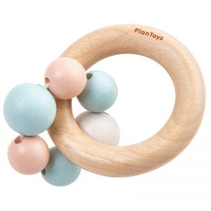 EarthHero - PlanToys Baby Wooden Beads Rattle - 1