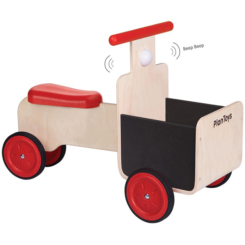 EarthHero - Baby Wooden Delivery Bike - 1