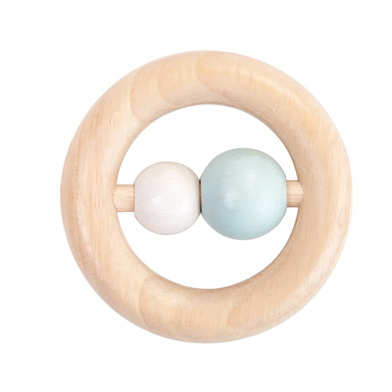 EarthHero - PlanToys Baby Wooden Ring Rattle - 2