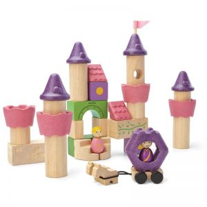 EarthHero - Fairy Tale Wooden Building Blocks - 35pc - 1