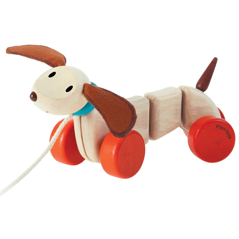 EarthHero - Happy Puppy Pull Toy - 1