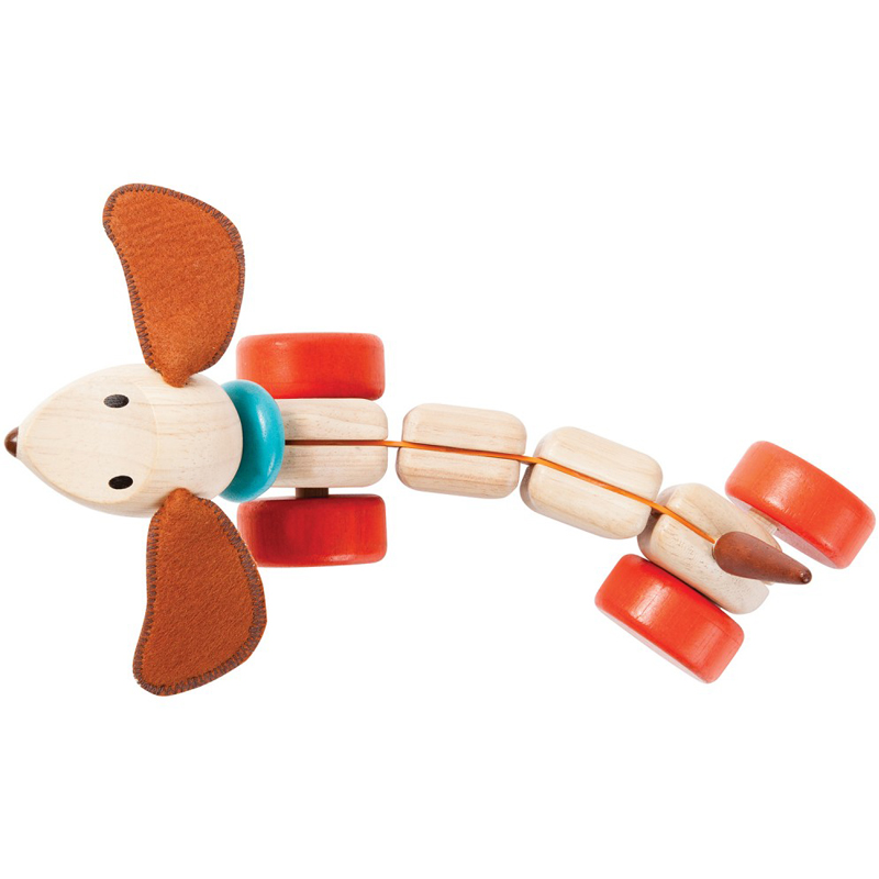 EarthHero - Happy Puppy Pull Toy - 2