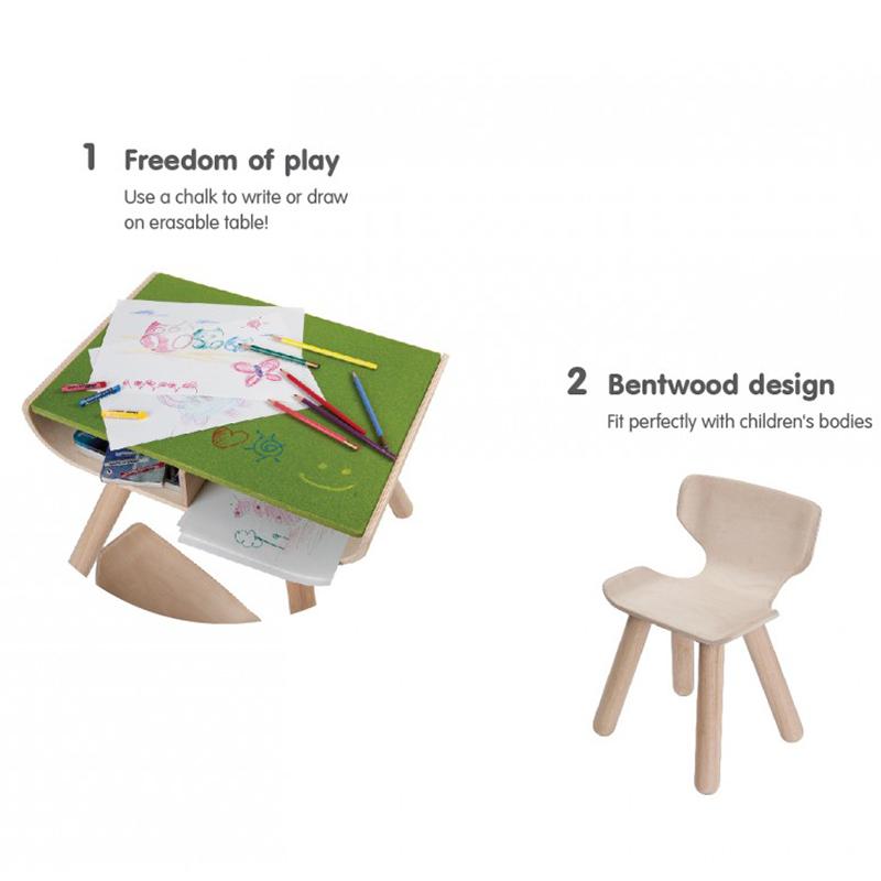 Sensational Kids Wooden Table Chair Dailytribune Chair Design For Home Dailytribuneorg