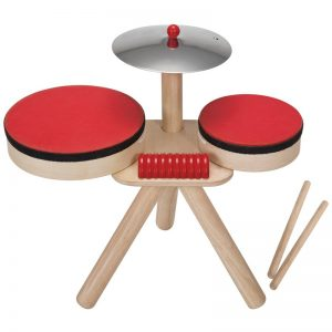 EarthHero - PlanToys Musical Drum Band - 1