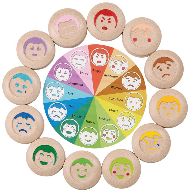 EarthHero - My Mood Memo Kids Emotion Wheel - 1