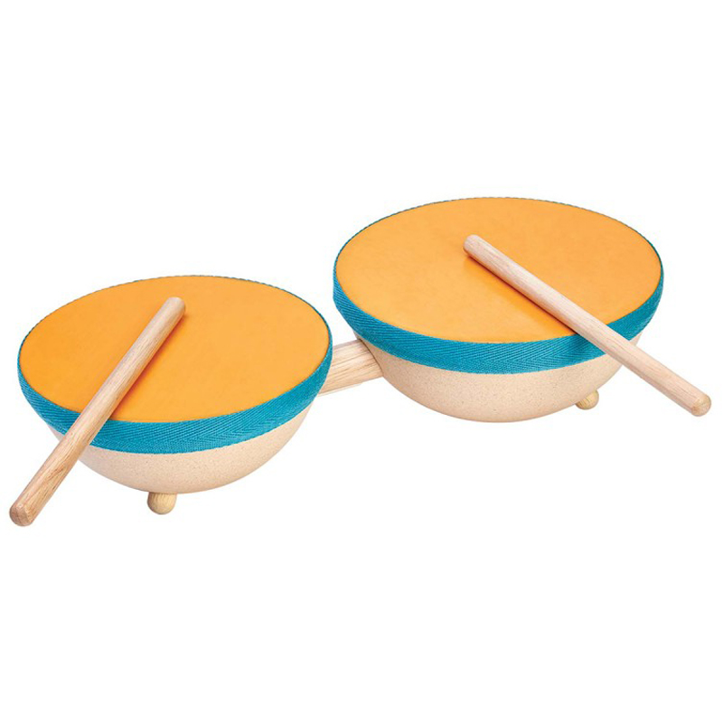 EarthHero - Natural Rubber Double Drum Set - 1